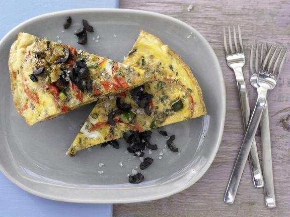 Provencal Vegetable Omelet
