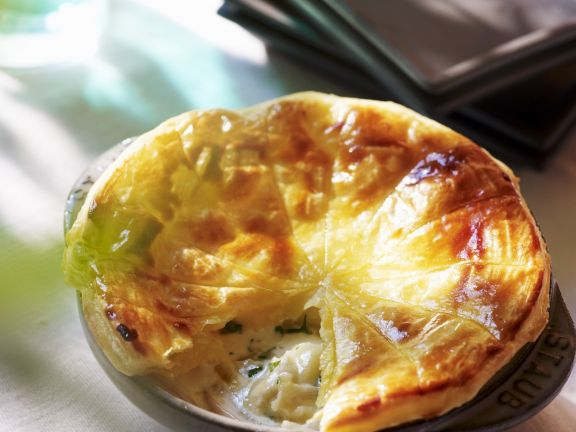 Puff Pastry Tart with Potatoes and Camembert