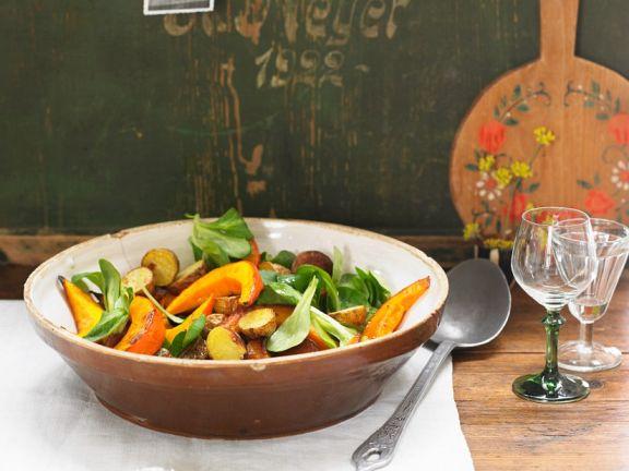 Pumpkin and Potato Salad
