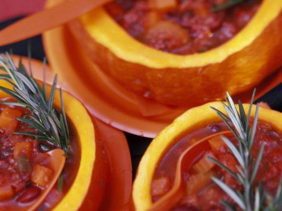 Pumpkin Bowl Chilli