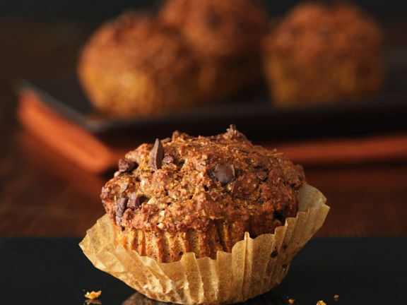 Pumpkin-Chocolate Muffins