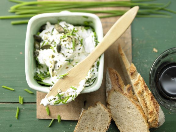 Pumpkin-Seed and Cream Cheese Spread