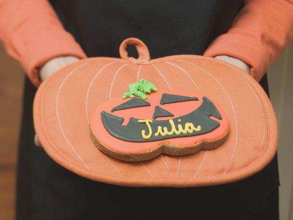 Pumpkin Shaped Cookies