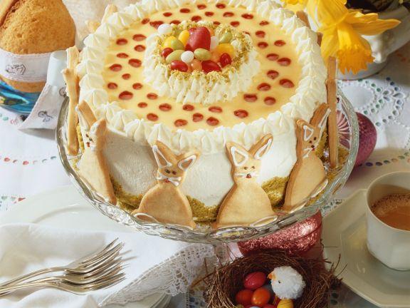 Quark Torte for Easter
