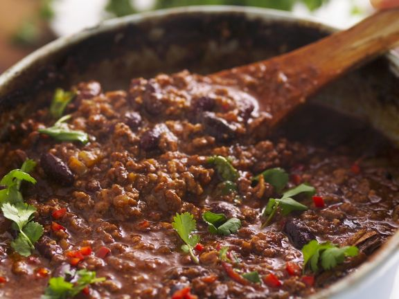 Quick Beef Chilli