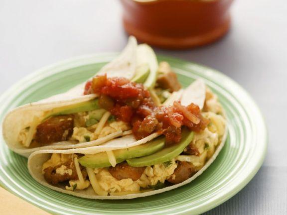 Quick Breakfast Tacos