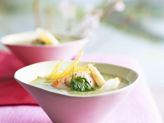 Quick Potato and Asparagus Soup