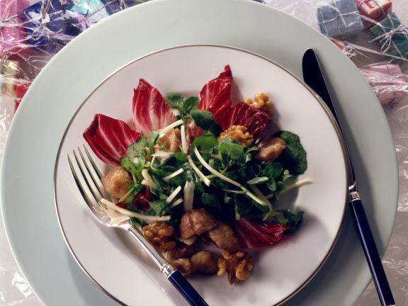 Radicchio and Watercress Salad