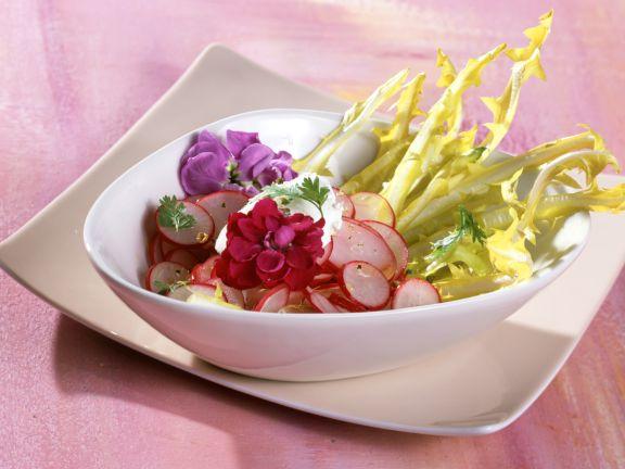 Radish Dandelion Salad