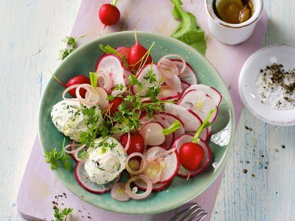 Radish Salad with Ricotta