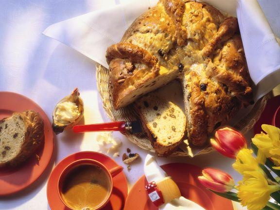Raisin and Nut Yeast Bread