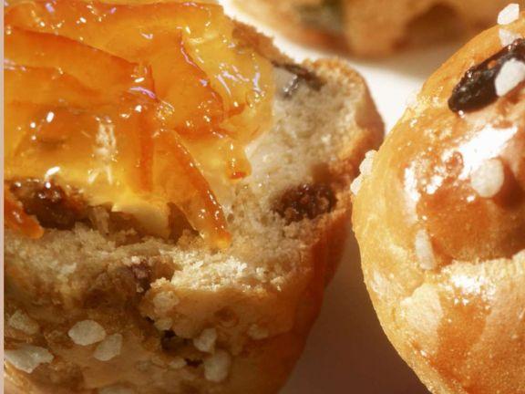Raisin Yeast Muffins