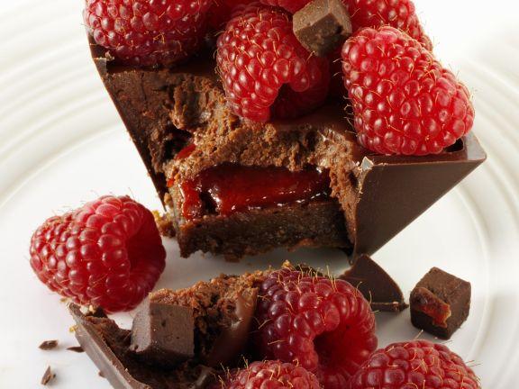 Individual Choc Berry Dessert