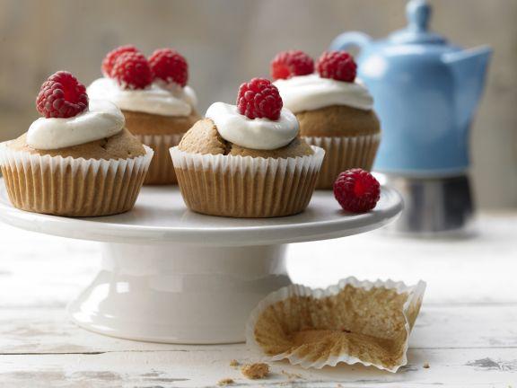 Raspberry Ginger Muffins