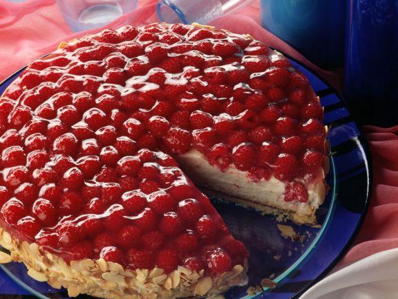 Raspberry-yogurt Cake