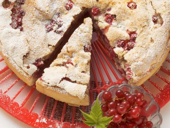Red Currant Tart with Meringue