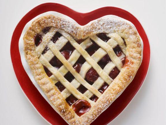 Red Fruit Lattice Pie