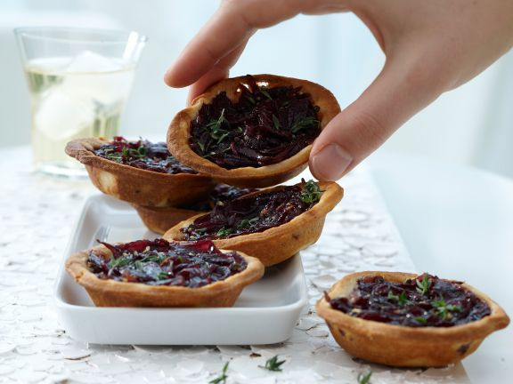 Red Onion Tartlets