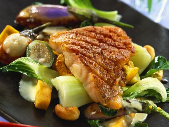 Red Snapper with Coconut Curry