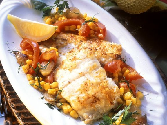 Red Snapper with Sweet Corn