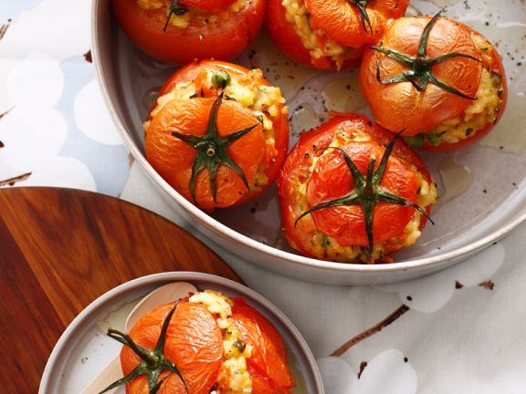 Rice-filled Tomatoes