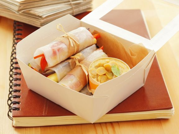 Rice Paper Vegetable Rolls