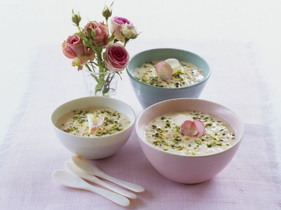 Rice Pudding Morrocan-style with Pistachios