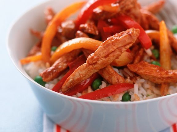 Rice with Shredded Chicken