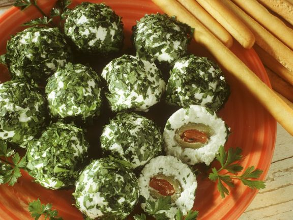 Ricotta and Herb Balls