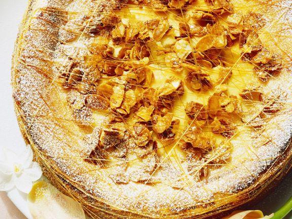 Ricotta Cherry Cheesecake