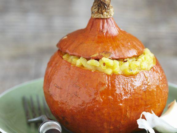 Risotto in a Pumpkin