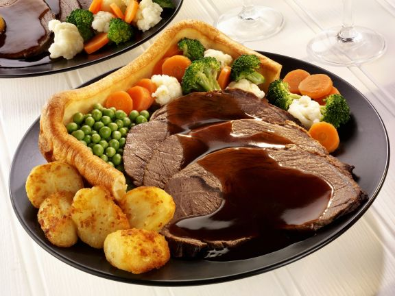 Roast Beef English Style With Yorkshire Pudding Recipe Eat