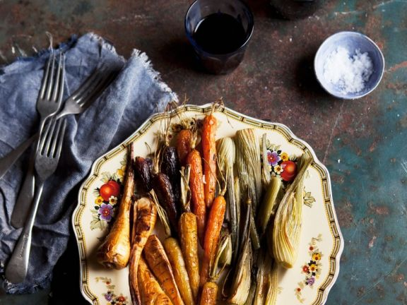 Roasted Carrots with Fennel
