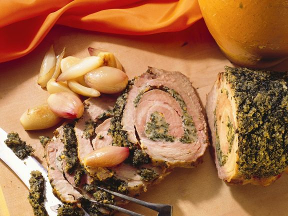 Rolled Pork Roast with Herbs