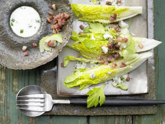 Romaine Lettuce with Roquefort