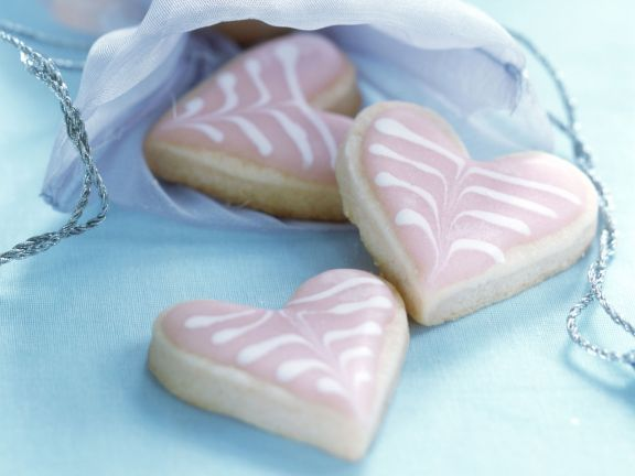 Romantic pastry treats