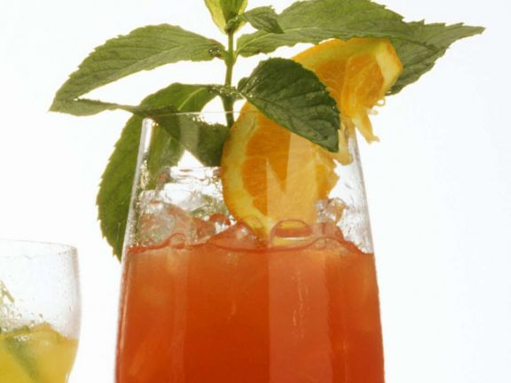 Rum Cocktail with Orange