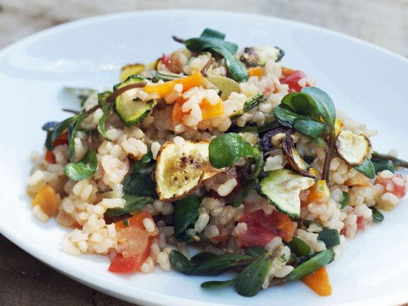 Rustic Country Rice Dish
