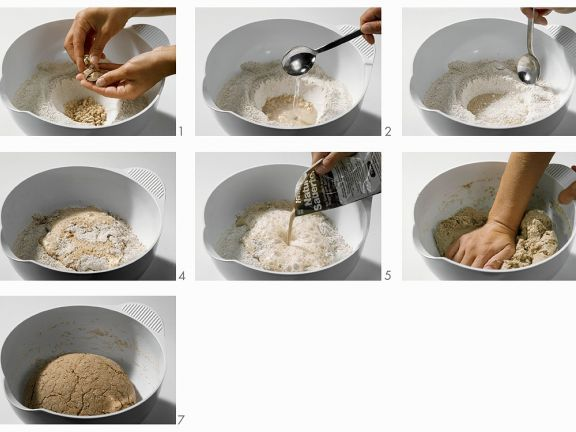 Rye Loaf Dough