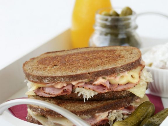 Rye with Salt Beef and Mustard