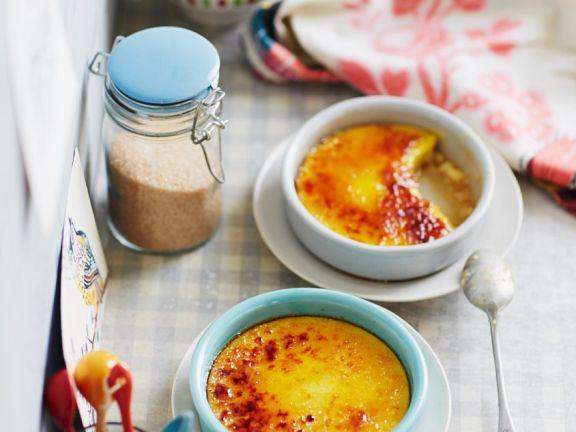 Saffron Crème Brûlée