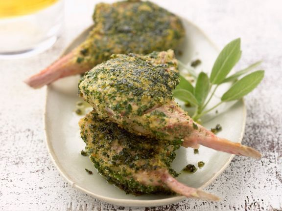 Sage Crusted Cutlets