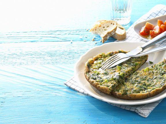 Salad Omelet
