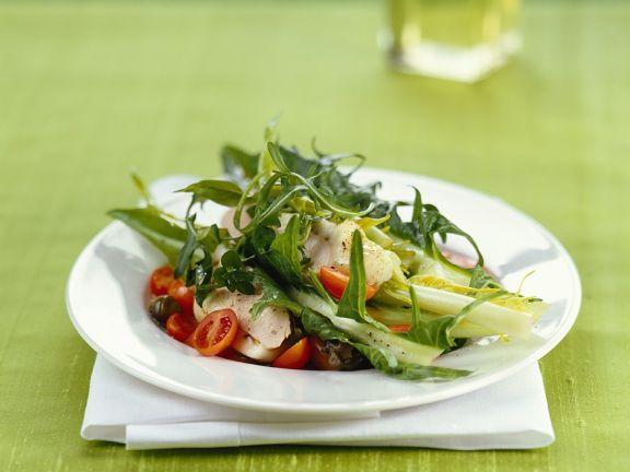 Salad with Rabbit