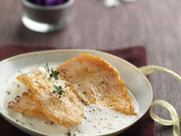 Salmon with Champagne Nage
