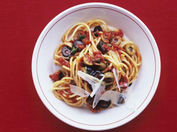 Sardine and Olive Pasta