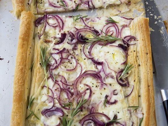 Savory Puff Pastry with Cheese