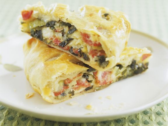Savory Strudel with Vegetables