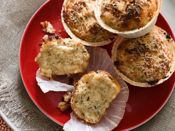 Savory Sun-Dried Tomato and Parmesan Muffins