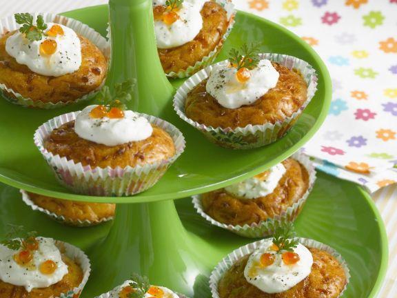 Savoury Cupcake Canapes
